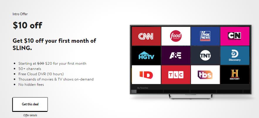 Sling TV in Canada