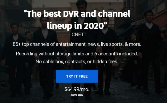 Watch YouTube TV in Canada