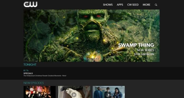 The CW website