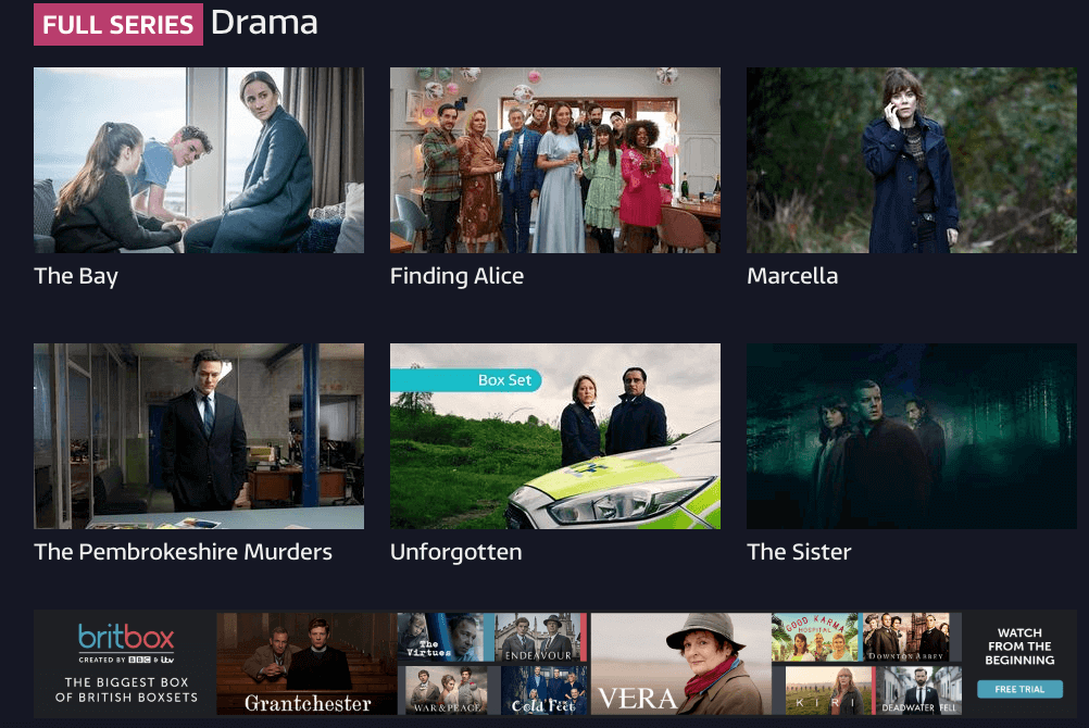 Watch full series drama on ITV Hub in Canada on your favorite device