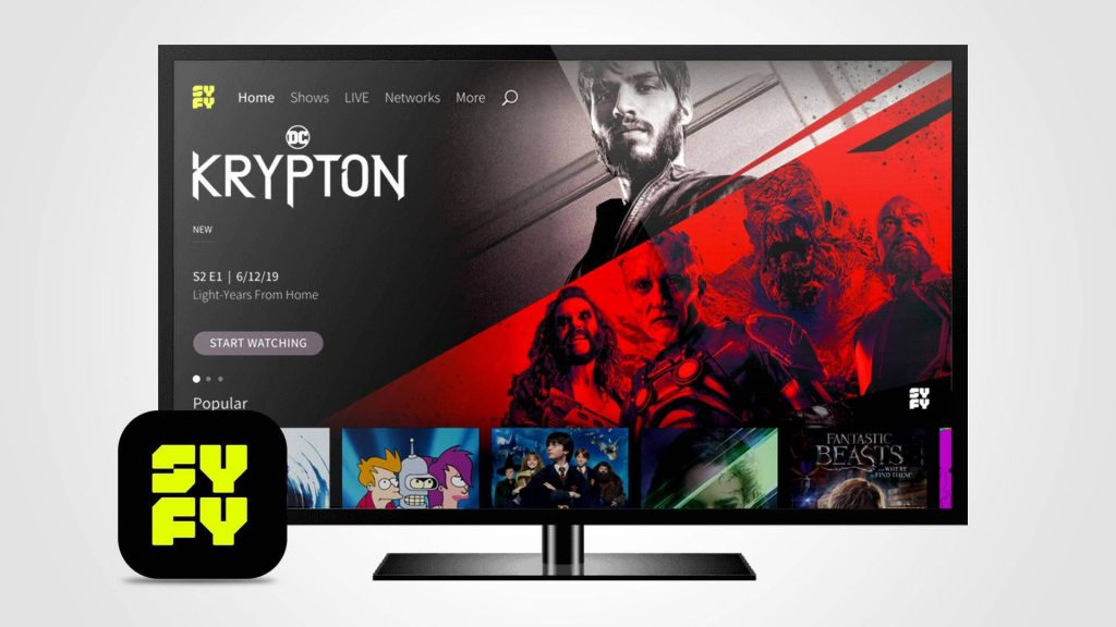 Devices where you can watch SyFy