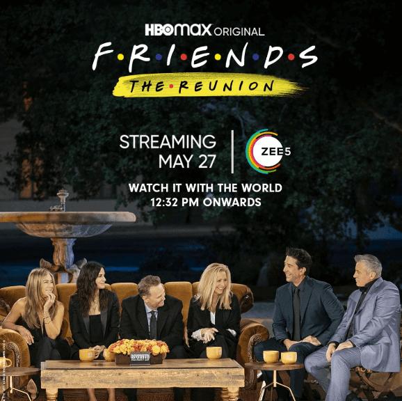 Watch Friends: The Reunion on Zee5 in Canada