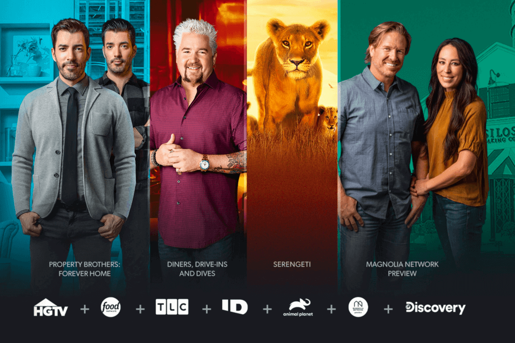 Discovery Plus USA top shows and documentaries