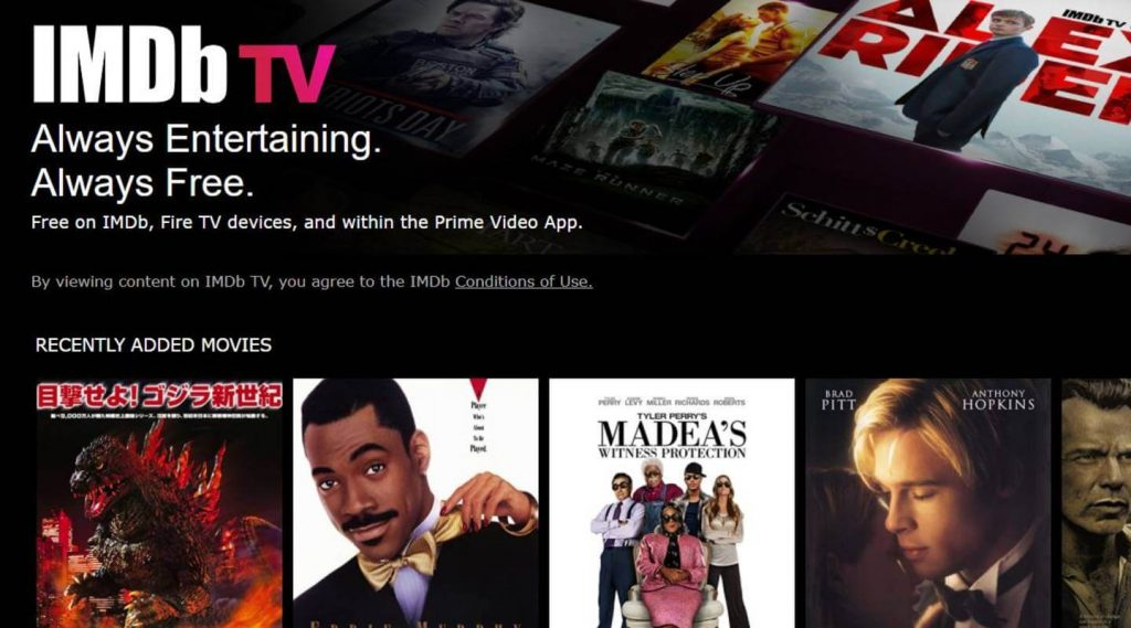 How to get and watch IMDb TV in Canada