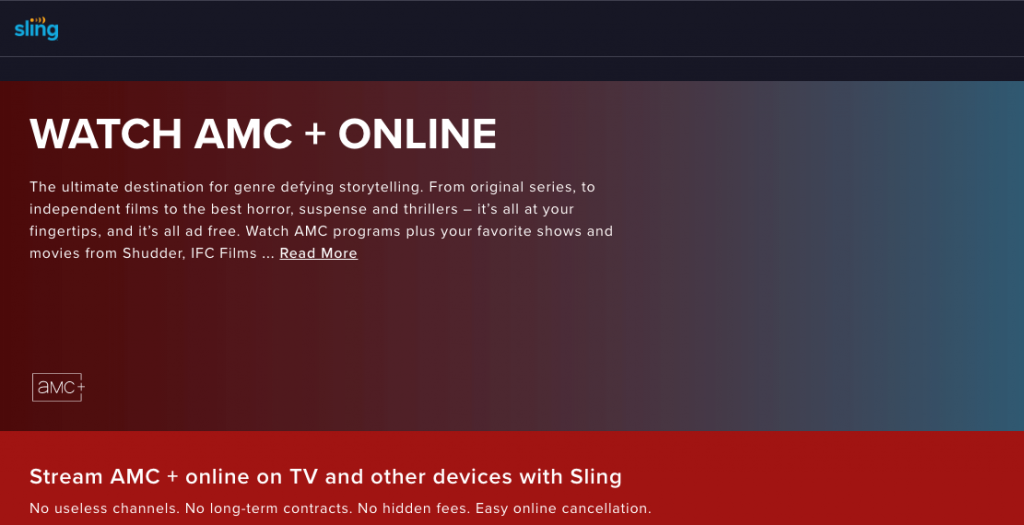 Watching AMC on Sling TV without cable in Canada via VPN