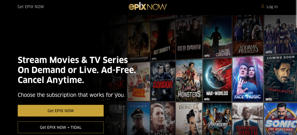 Is EPIX NOW and EPIX offers the same content