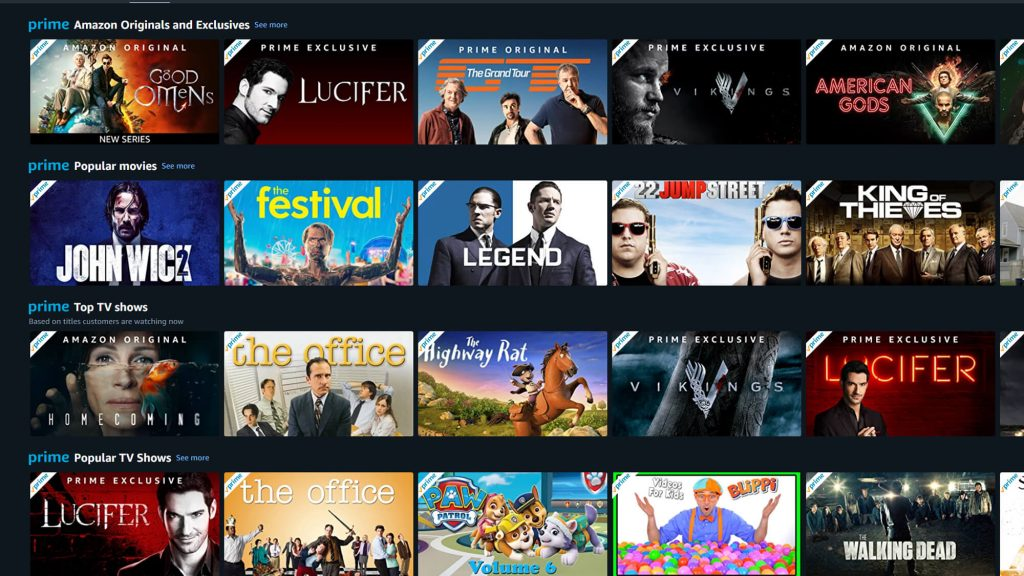 How to unblock Amazon Prime UK library in Canada