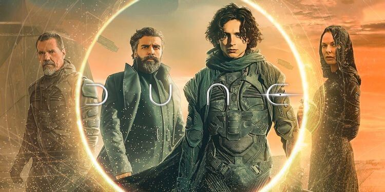Dune on HBO Max releasing on 22 October