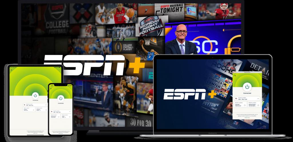 ExpressVPN-best vpn to watch ESPN Plus in Canada