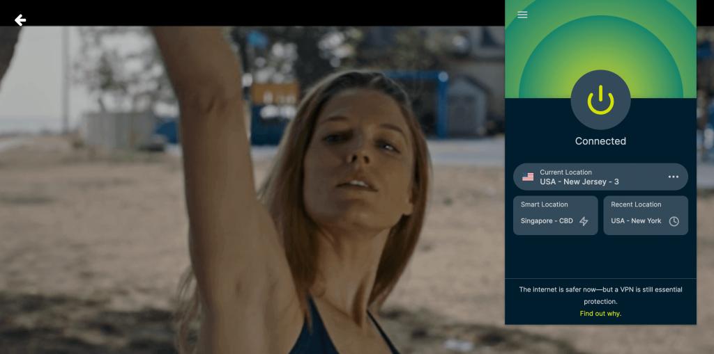 Watching Screambox in Canada using VPN